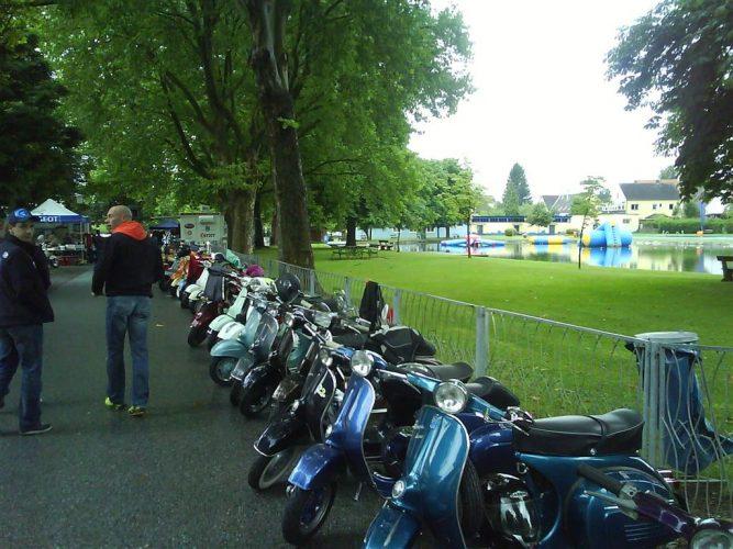 Ausfahrt Vespatreffen Burgau 23. Juli 2011 (13)