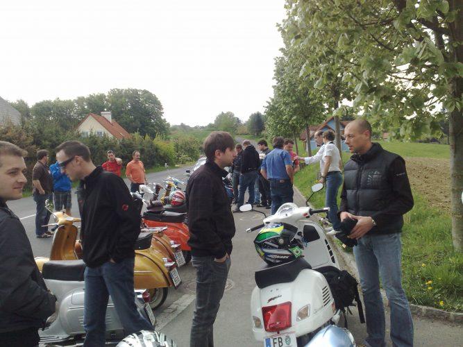 Ausfahrt zum Vespatreffen nach Fürstenfeld am 01. Mai 2010 (4)
