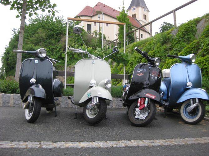 Ausfahrt zum Vespatreffen nach Graz am 22. Mai 2010 (2)
