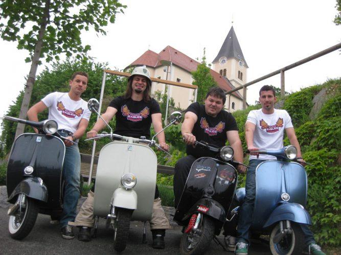 Ausfahrt zum Vespatreffen nach Graz am 22. Mai 2010 (3)
