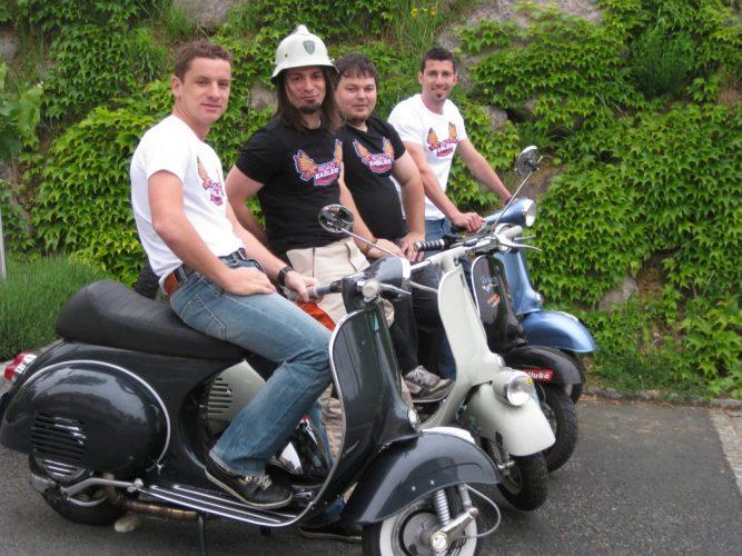 Ausfahrt zum Vespatreffen nach Graz am 22. Mai 2010 (5)