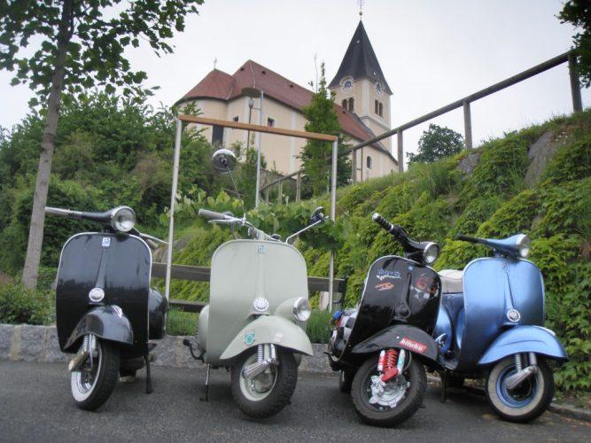 Ausfahrt zum Vespatreffen nach Graz am 22. Mai 2010 (6)