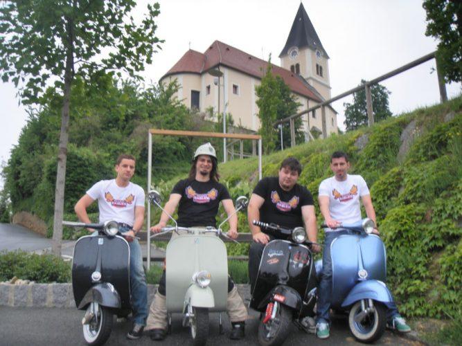 Ausfahrt zum Vespatreffen nach Graz am 22. Mai 2010 (7)