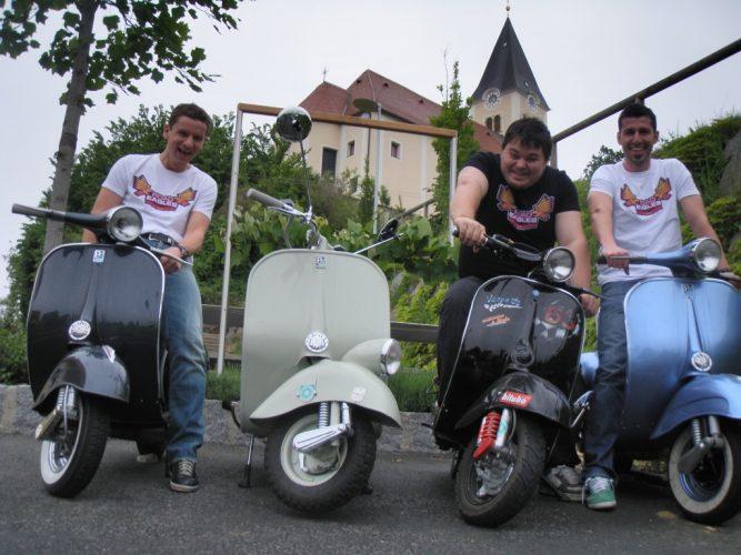 Ausfahrt zum Vespatreffen nach Graz am 22. Mai 2010 (8)