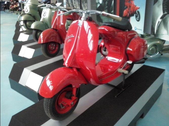 Vespamuseum Pontedera 2013 (7)